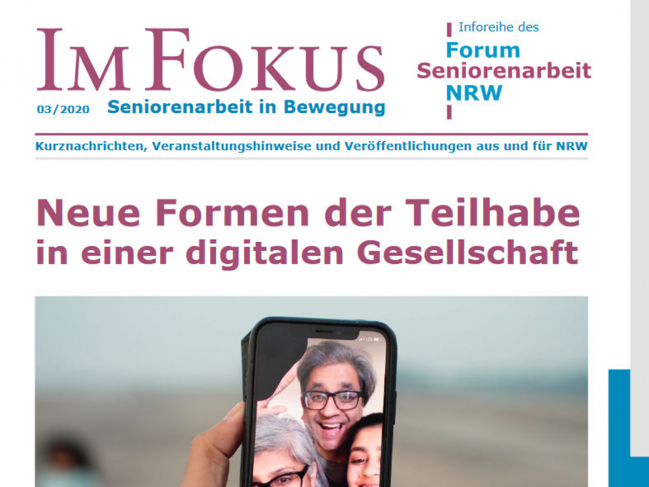 Cover Im Fokus Ausgabe 3 2020